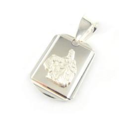 Medalik srebrny Matka Boska Szkaplerzna 925