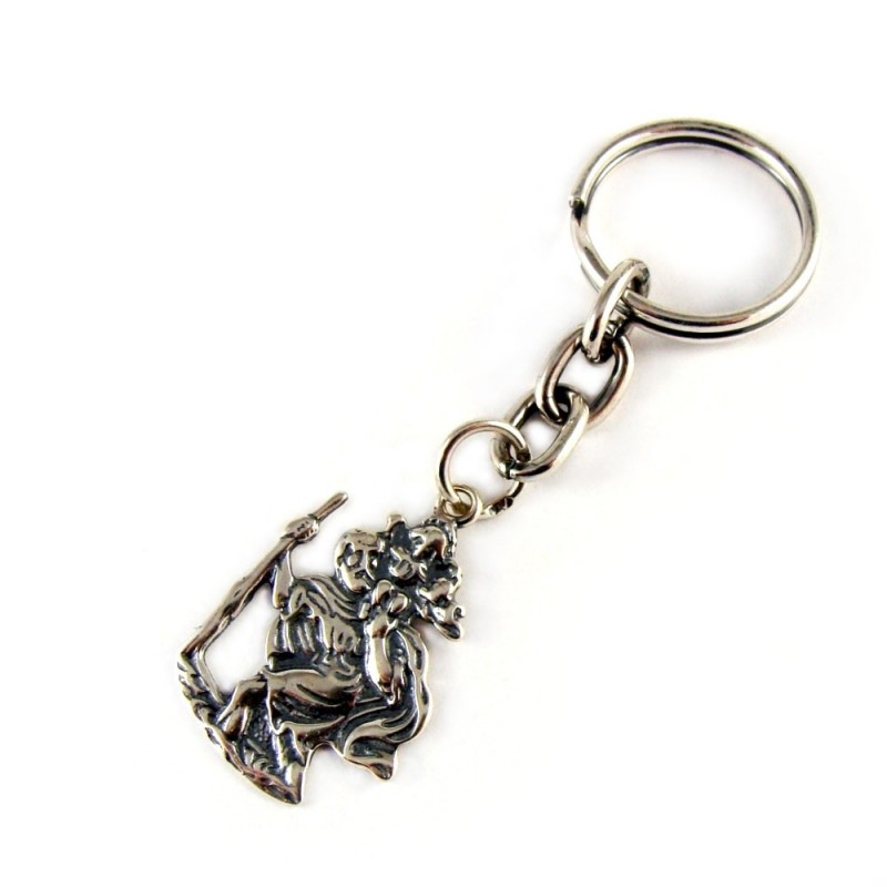 Brelok do kluczy św. Krzysztof