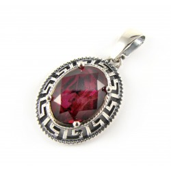 Zawieszka srebrna kryształ Swarovski