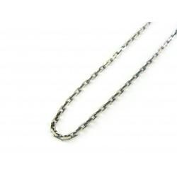Łańcuszek srebrny ANKIER DIAMENTOWANY OKSYDOWANY