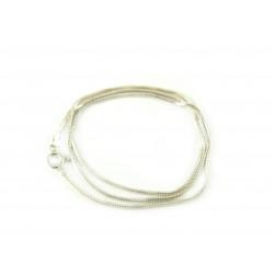 Łańcuszek srebrny żmijka 50 cm