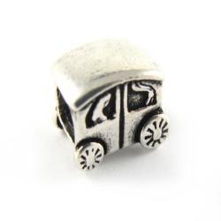 Przekładka srebrna oksydowana samochód