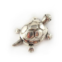 Wisiorek srebrny żółw srebro 925