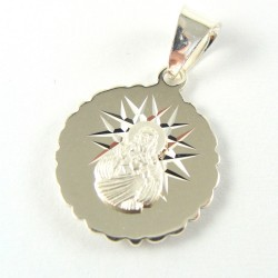 Medalik srebrny Matka Boska Szkaplerzna