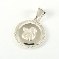 Medalik srebrny aniołek